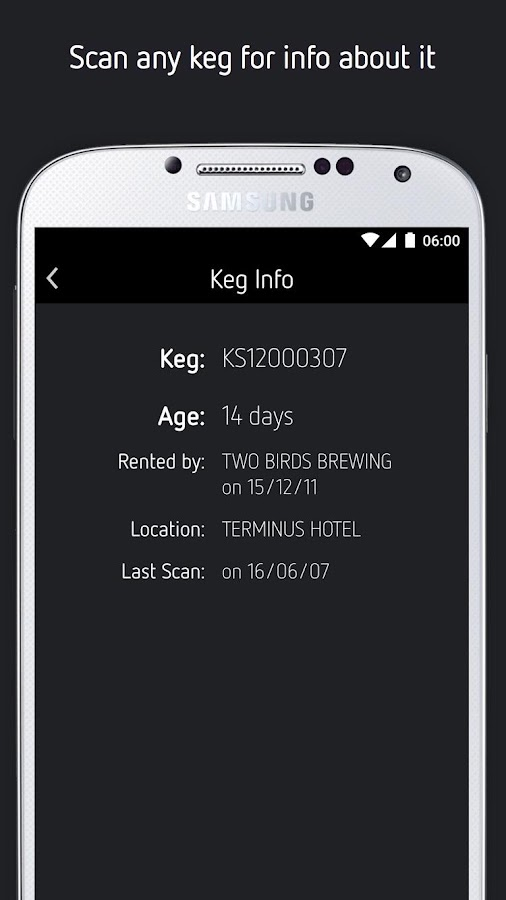 Kegstar- screenshot
