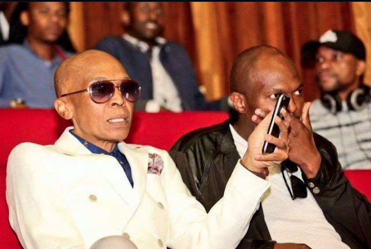 A picture of Robbie Malinga is being circulated on social media.
