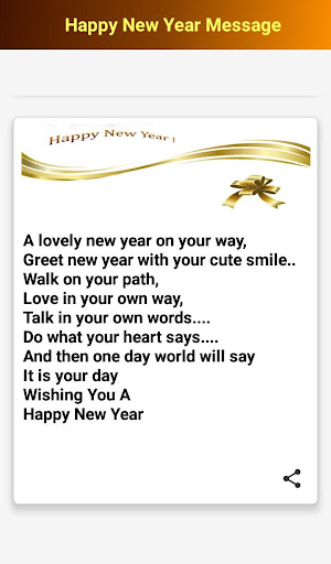 Happy New Year Best Wishes Message - शुभकामनाए APK download ...