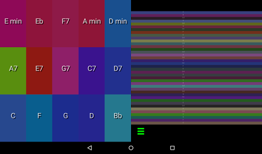 Color Autoharp Εφαρμογές για Android screenshot