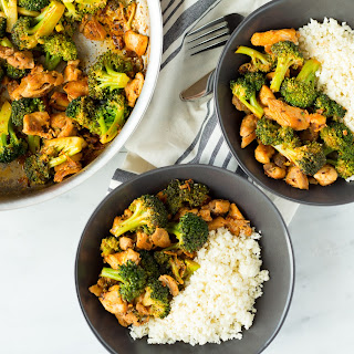 Buffalo Chicken and Broccoli Bowls.