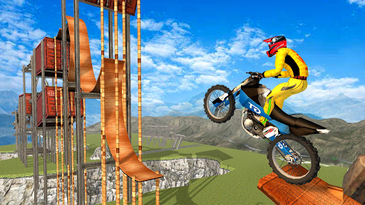 New Bike Racing Stunt 3D screenshot 16