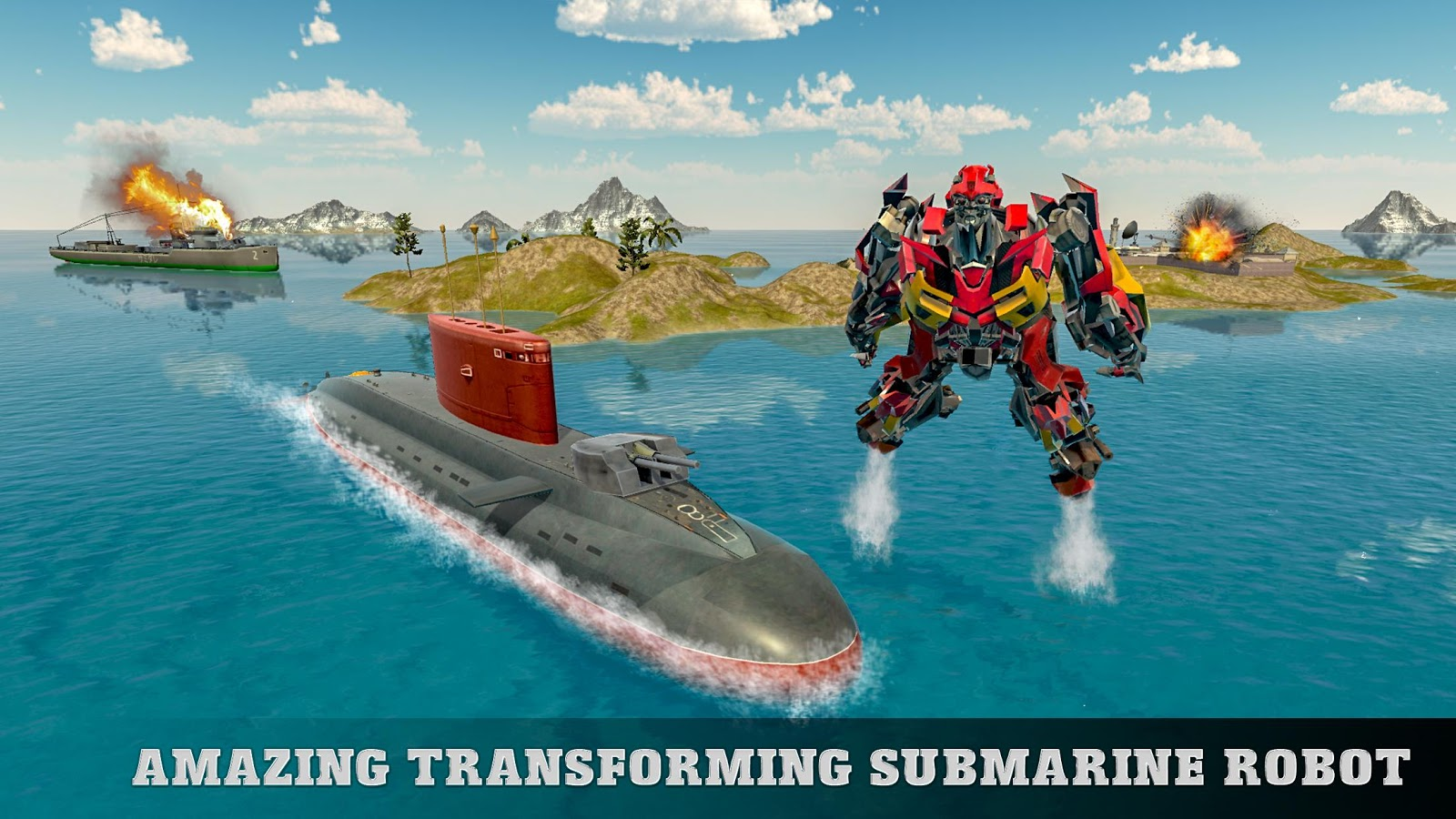 Russian Submarine Robot Transformation Battleship- screenshot