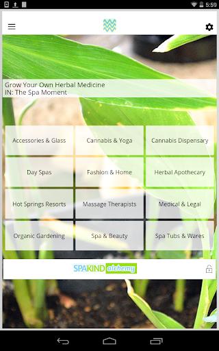 SPAKIND Cannabis Spa App