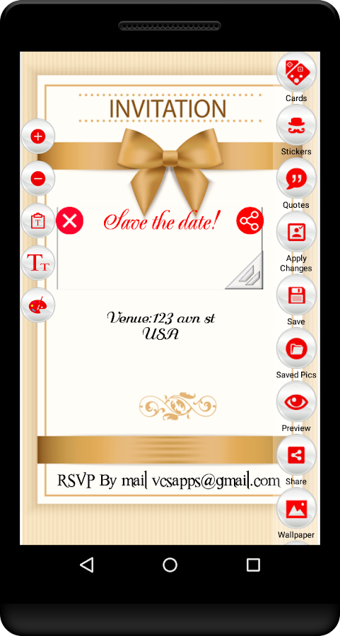 Birthday Invitation Card Maker Android Apps On Google Play - Birthday invitation software free download