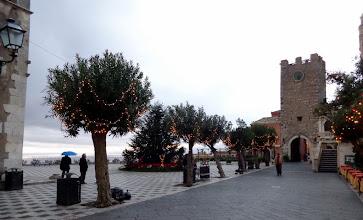 Photo: Piazza Sant Agostino in festive mood