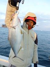 Photo: これも近海にしては、よいサイズのネリゴでしたー!
