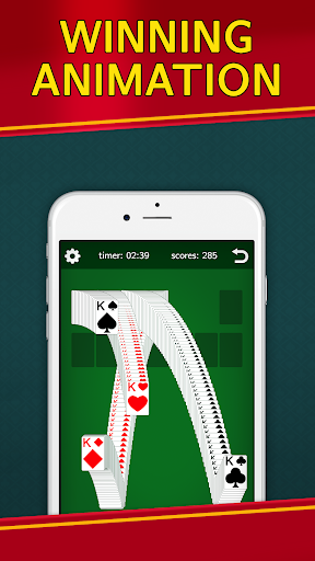 Classic Solitaire Klondike - No Ads! Totally Free! 2.05 screenshots 4