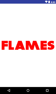 Flames - Match Calculator - náhled