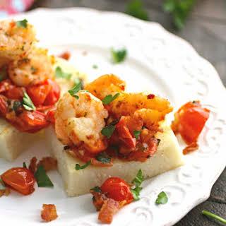 Individual Cheesy Shrimp & Grits.