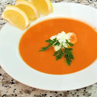 Egyptian Red Lentil Soup