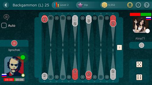 Backgammon LiveGames - live free online game  captures d'écran 4