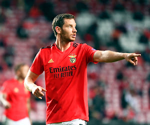 Jan Vertonghen fait son retour avec Benfica et garde le zéro