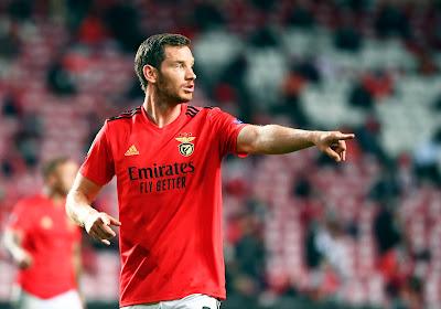 Jan Vertonghen partage l'enjeu avec Benfica à Porto