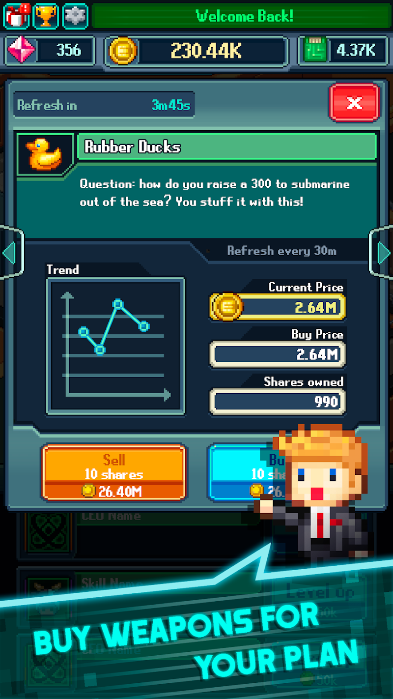 Tap Tap Evil Mastermind - Idle Doomsday Clicker Screenshot 2