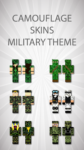 Camouflage Skins For Minecraft PE 1.0 screenshots 4