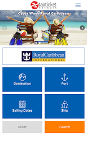 Ticketroyal - Specialists in Royal Caribbean - náhled