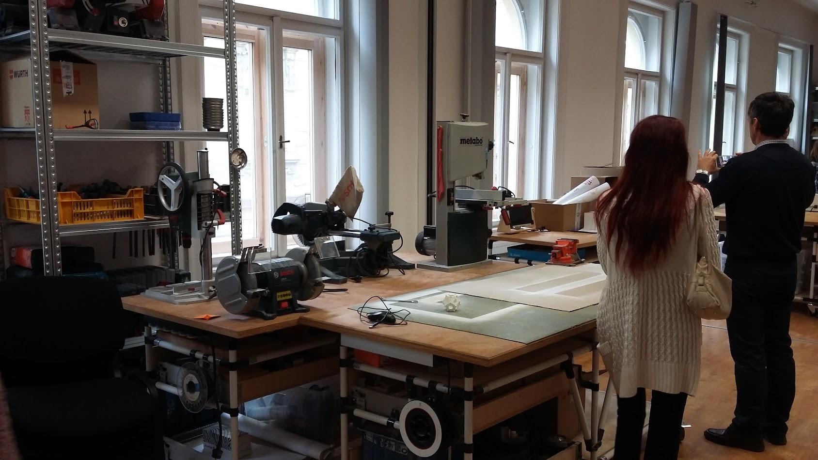 BSZC-Látogatás Budapesten a Makerspace műhelyben