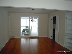 Photo: Dining room before