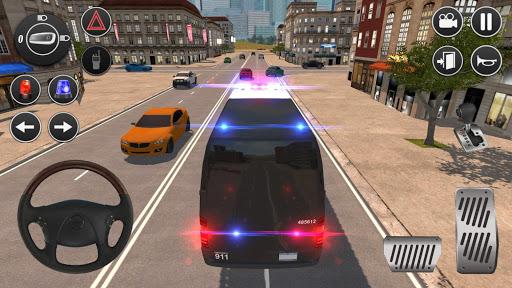 American Police Van Driving: Offline Games No Wifi filehippodl screenshot 1