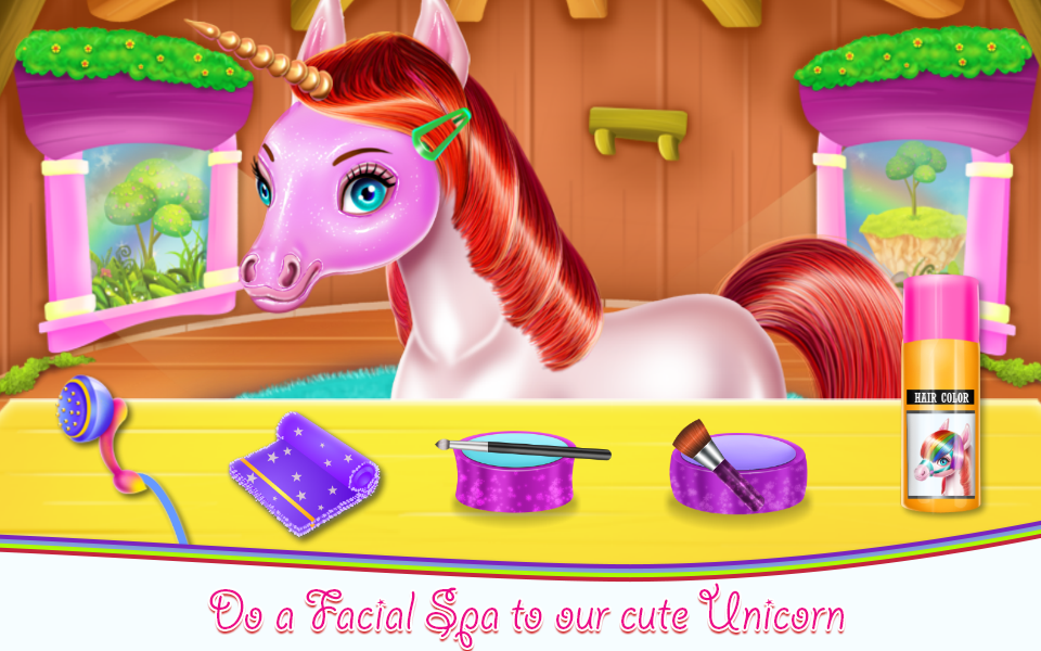 Unicorn Beauty Salon- screenshot