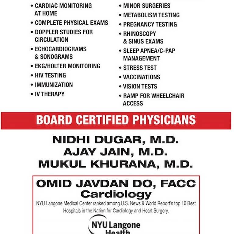 HUDSON PRIMARY CARE of JACKSON HEIGHTS,QUEENS- Nidhi Dugar
