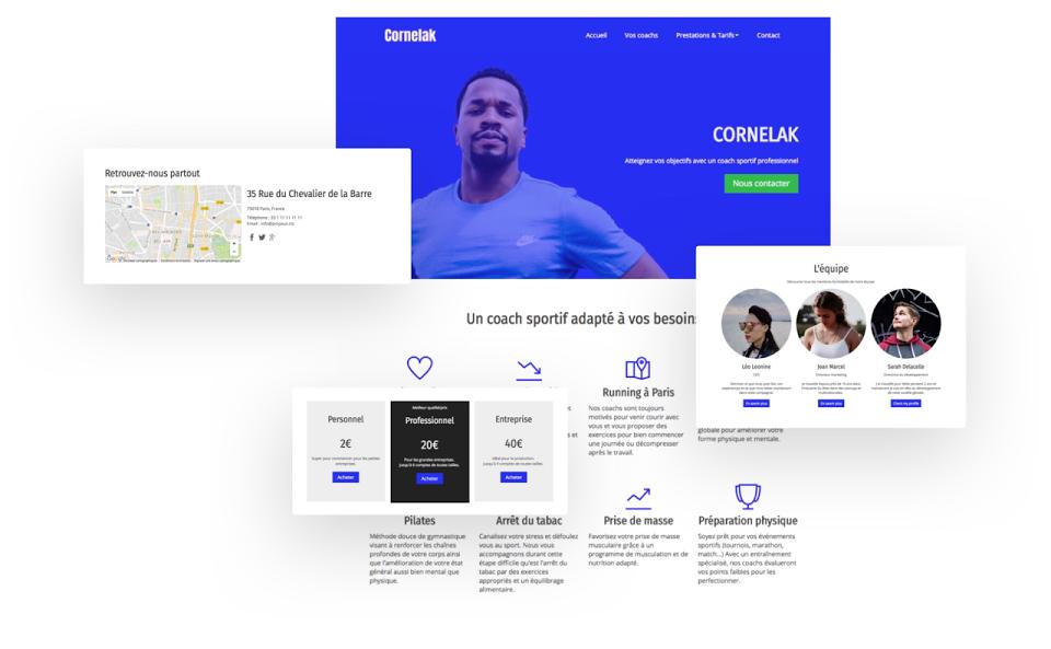 Créer un site internet pour coach sportif