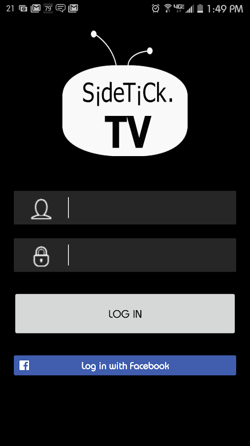SideTick TV- screenshot
