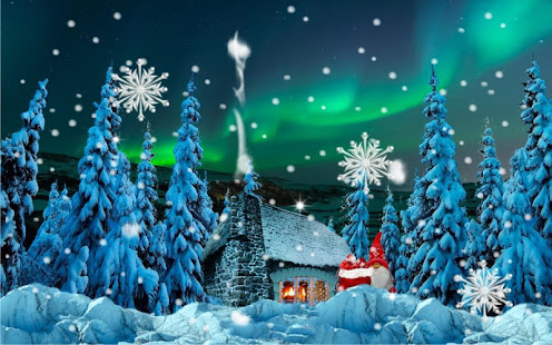 Santa Weihnachtshaus Lebe Tapete – Apps bei Google Play