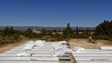 Photo: constructie van de betonvloer