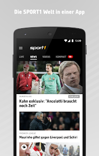 SPORT1: Sport News live- screenshot thumbnail