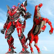 Police Horse Robot Transforming: Real Robot Game