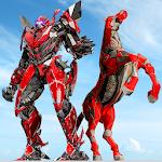 Police Horse Robot Transforming: Real Robot Game Icon