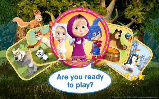 Masha and the Bear Child Games filehippodl screenshot 24