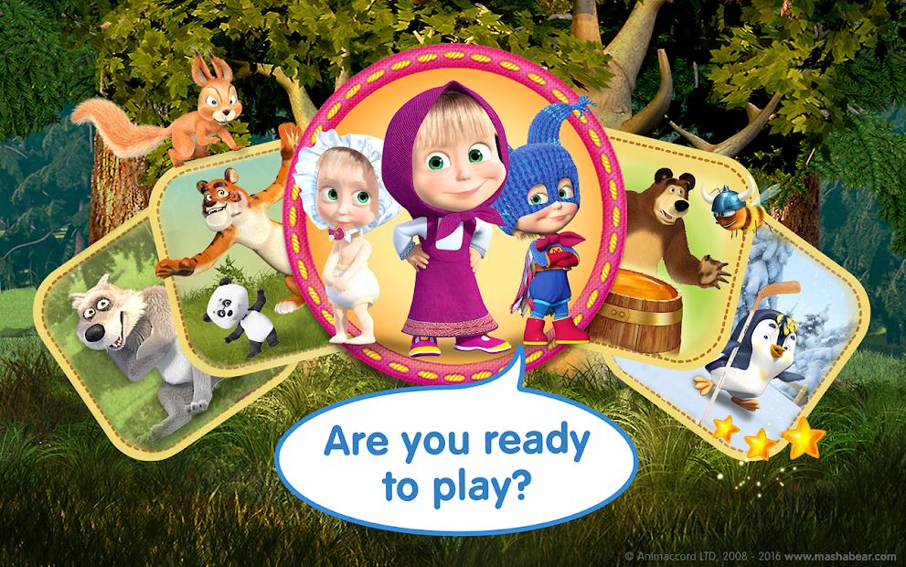 Masha and the Bear Child Games screenshot 23