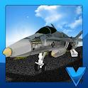 Airport 3D Jet plane parking icon