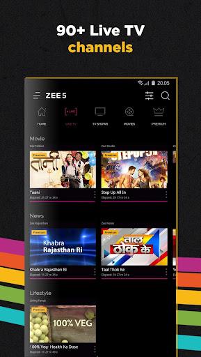 ZEE5 - Movies, TV Shows, LIVE TV & Originals for PC
