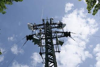 Photo: Die Antennenanlage am Kaiserkogel