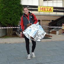 Photo: Sylwia dotarła do mety jako jedna z pierwszych, bo bieg zakończyła na PK 4