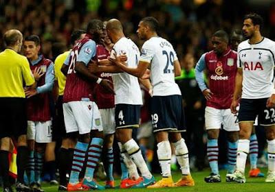Aston Villa et Tottenham mis à l'amende