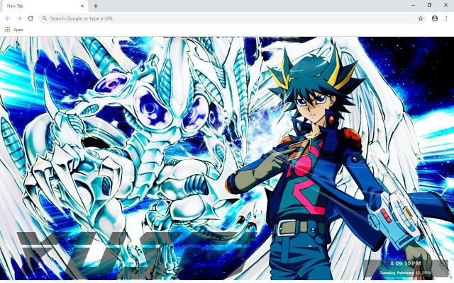 Yugioh New Tab & Wallpapers Collection