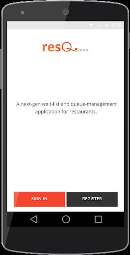 resQ Queue Manager screenshot 1