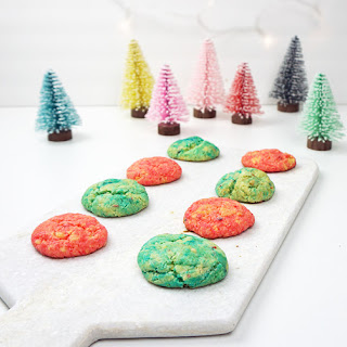 Easy Christmas confetti cookies