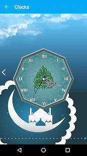 Islamic Live Clock Wallpaper & Date Countdown- screenshot thumbnail