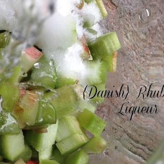 {Danish} Rhubarb Liqueur.