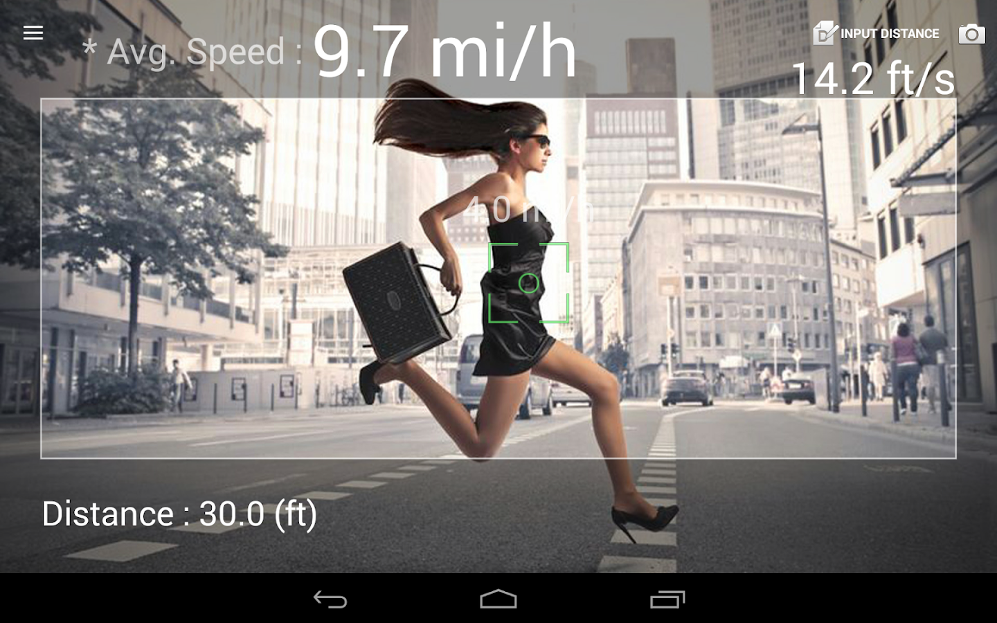 Speed Gun- screenshot
