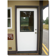 Photo: Sing Core's Honeycomb Torsion Box insulated sandwich core door