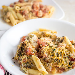 No-boil Casserole With Chicken, Tomato, And Herb Topping