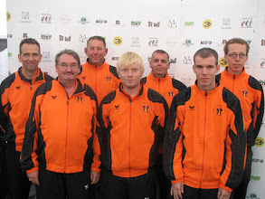Photo: The Netherlands. Alex Jasper, Martin Mulder, Ruud Slappendel, Zeno Folkertsma, Steven Stieger, Rene Bos and Erik Tiekstra. (Photo: Bengt Svensson)
