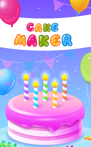 Cake Maker - Cooking Game apkpoly screenshots 12